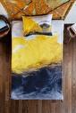 home-bath Tek Kişilik Nevresim Seti Yellow Renkli